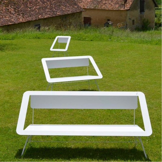 Different and Different nous propose un banc de jardin design et urbain: Inouï