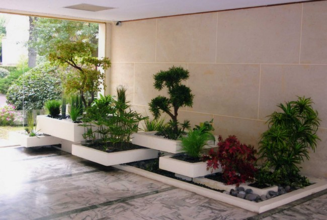 Les spécialistes de l'aménagement de terrasse peuvent aménager des espaces intérieurs ET extérieurs