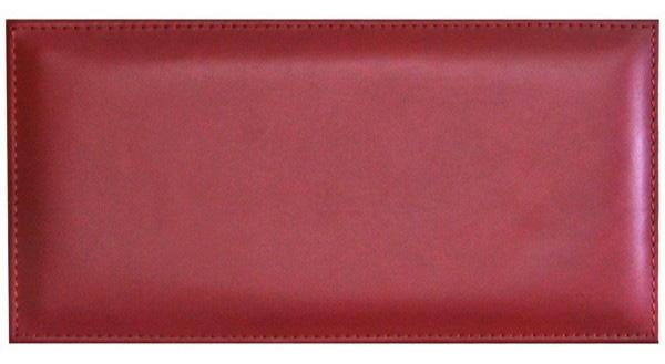 Pensez au panneau cuir rectangulaire (15x30cm) : un rouge étincelant pour un salon glamour