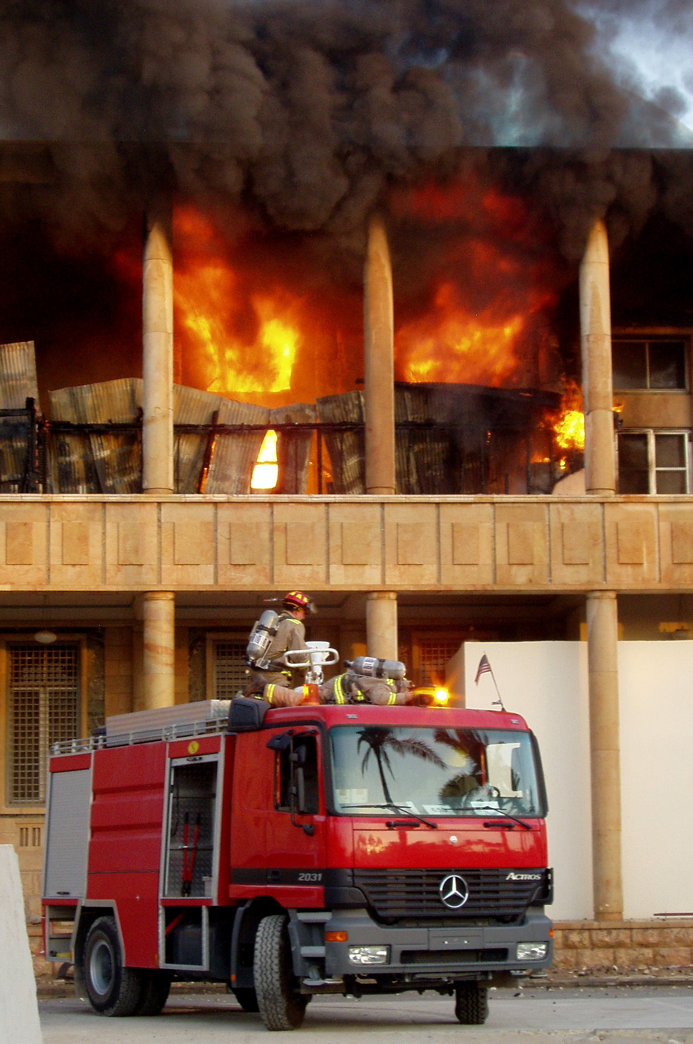 Incendie domestique, les bons reflexes