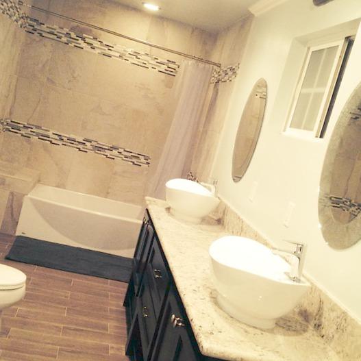 Du carrelage dans votre salle de bain, la bonne idée décoration