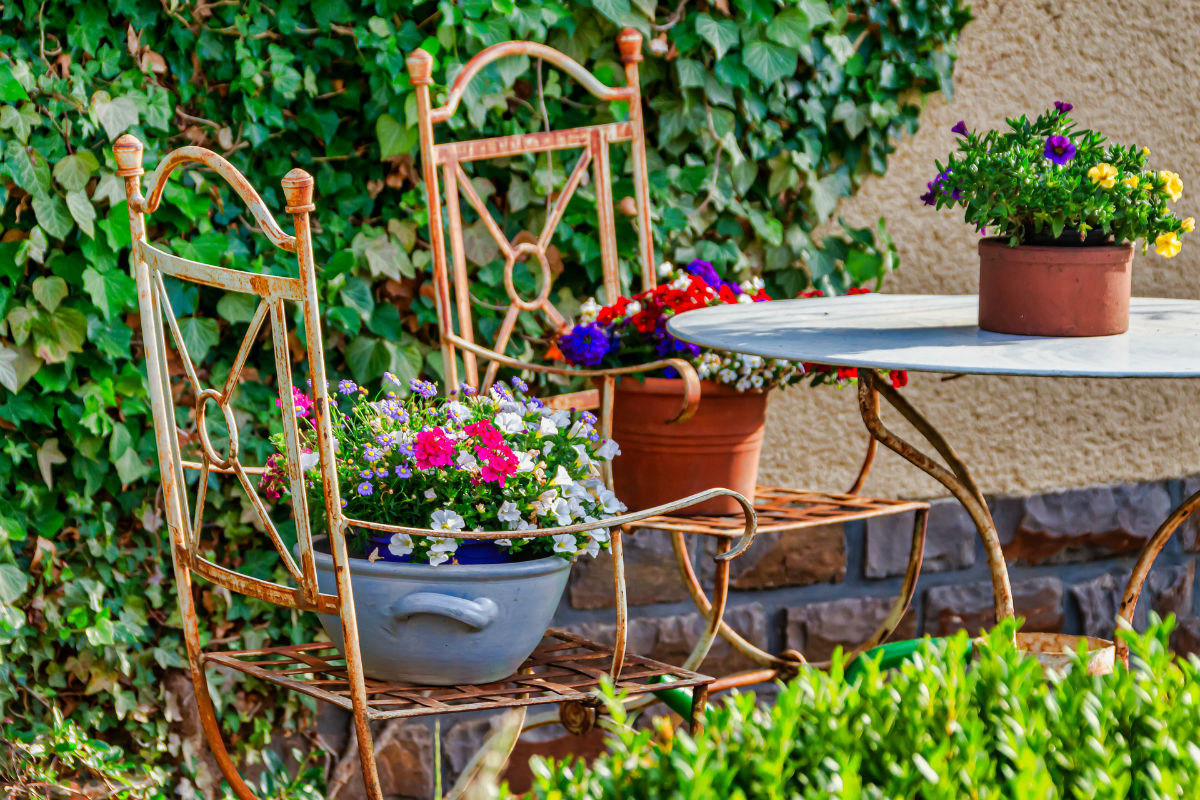 L'agencement de votre salon de jardin