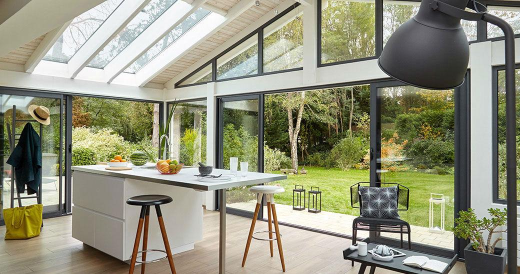 La véranda comme solution idéale pour réaliser une extension de maison